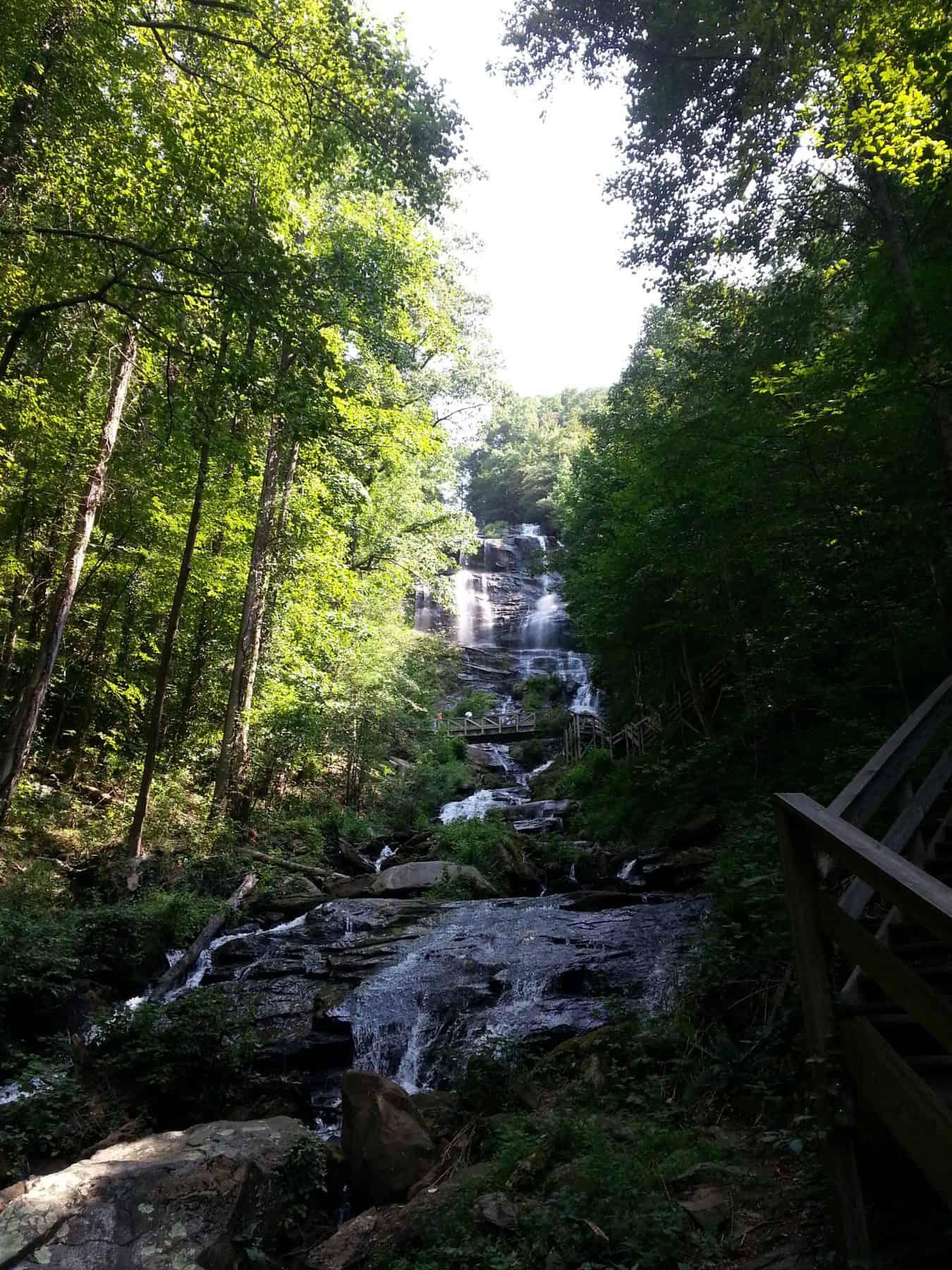 amicalolola falls, dahlonega, north georgia