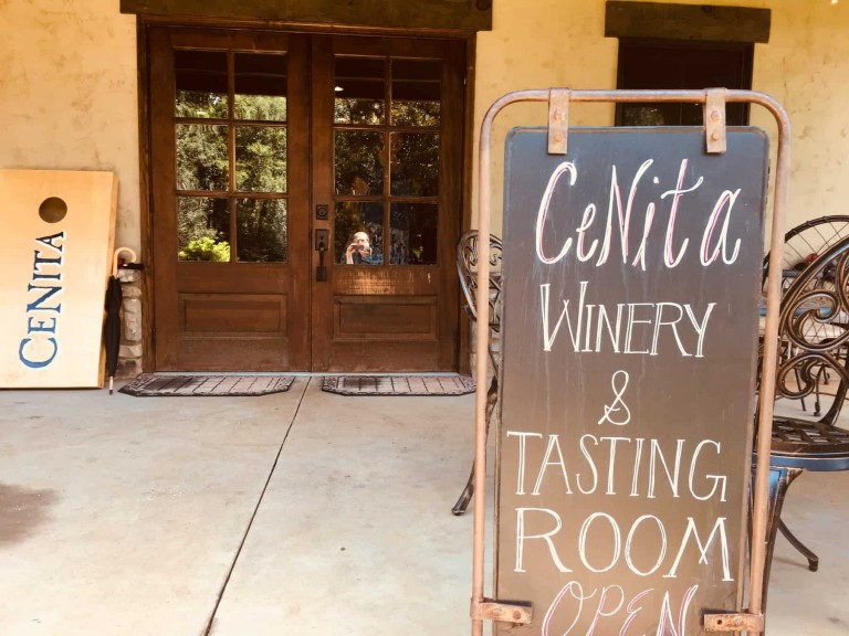 Cenita Winery Tasting Room
