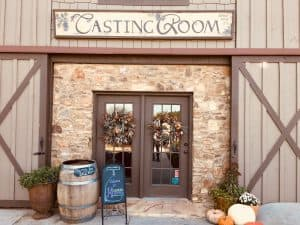 Chateau Meichtry tasting room entrance